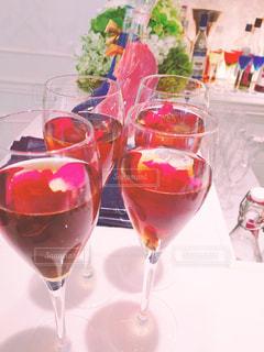 ワインのガラスの写真・画像素材[1233496]