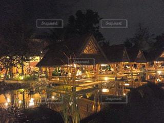 バリ島での夕食の写真・画像素材[1262770]