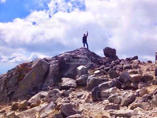 茶臼岳の写真・画像素材[1408597]
