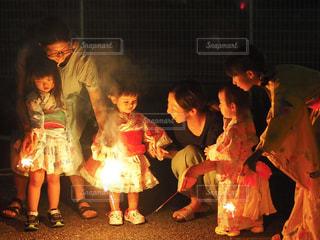 平成最後の夏の花火の写真・画像素材[1424456]