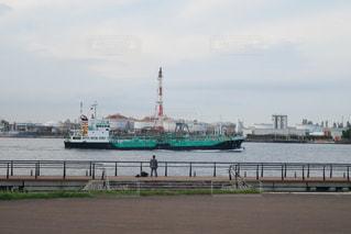 水体の大型船の写真・画像素材[1235123]