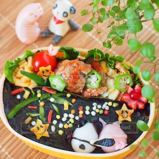 七夕弁当の写真・画像素材[1290736]