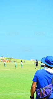 空,夏,スポーツ,サッカー,運動,応援