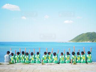ビーチの人々 のグループの写真・画像素材[1319769]