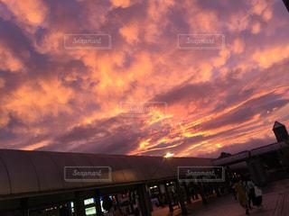 空には雲の写真・画像素材[1235614]