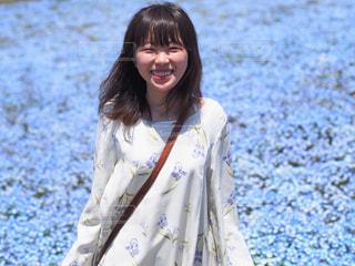 お花畑をかけめぐるの写真・画像素材[1409713]