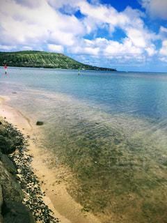 空と海の水色。ハワイカイ。の写真・画像素材[1323944]