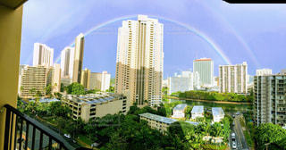 虹の街の写真・画像素材[1360467]