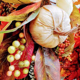 秋色オーナメントの写真・画像素材[1582635]