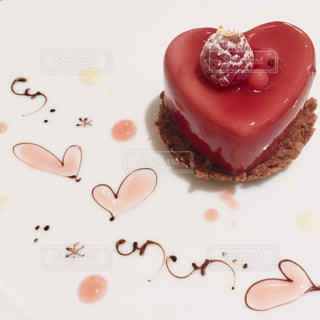 ケーキ,ハート,ピンク系