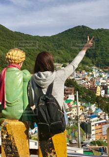 ピース,ポジティブ,釜山,甘川洞文化村,星の王子さま