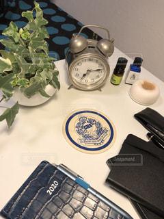 テレワークの自宅オフィスの写真・画像素材[3307712]
