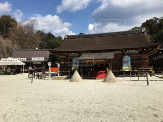 上賀茂神社の写真・画像素材[1671221]