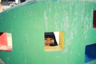 窓からこんにちはの写真・画像素材[1263585]