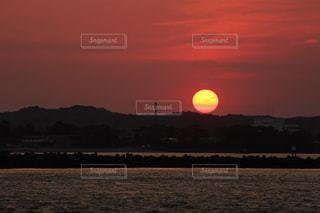 海,空,夕日,太陽,夕焼け,夕方,港,夕陽,静岡,浜松,浜名湖
