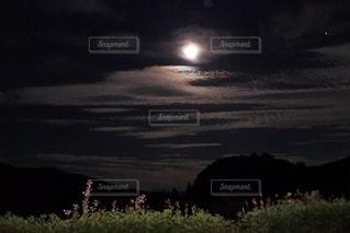 中秋の名月の写真・画像素材[1480578]