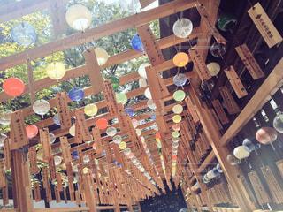 夏の風鈴の写真・画像素材[1248499]