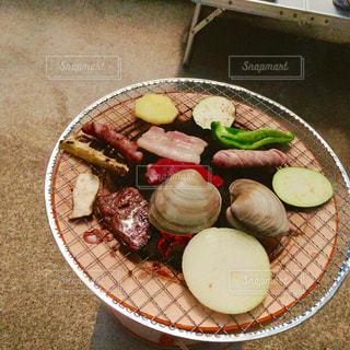 食品のプレートの写真・画像素材[1239465]