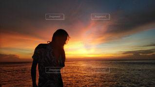 自然,海,夏,ビーチ,夕焼け,観光,旅行,旅,レンボンガン島,インスタ映え