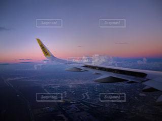 sunset,Sky,plane