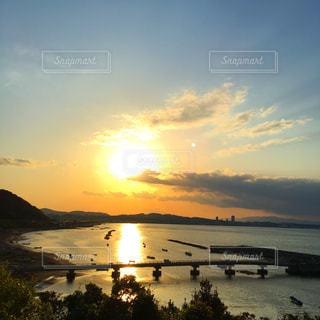 海,夕日,夕焼け,夕方,横須賀,走水,破崎緑地