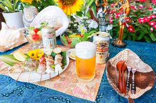 キリンと夏 一番搾りでディナーの写真・画像素材[1304970]