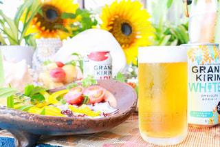 キリンと夏 GRANDKIRINで昼食ディナーの写真・画像素材[1304974]