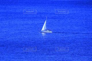 大海原を航行するヨットの写真・画像素材[1321900]