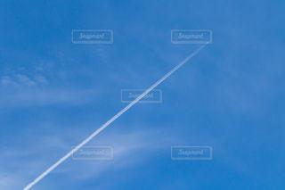 自然,空,秋,雲,青,飛行機,田舎,秋空,飛行機曇