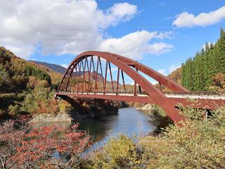 秋,橋,紅葉,長野,奥裾花大橋,奥裾花渓谷
