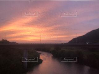 北海道のマジックアワーの写真・画像素材[1279786]