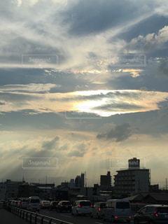 夕暮れの空の写真・画像素材[1272555]