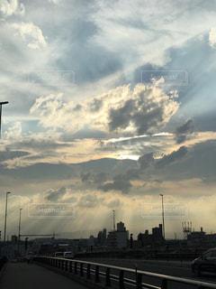 夕暮れの空の写真・画像素材[1272577]