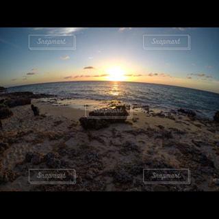 自然,風景,空,夕日,屋外,ビーチ,砂浜,夕暮れ,サンセット