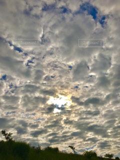 空,雲,朝陽,新潟