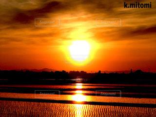 太陽,夕暮れ,夕陽
