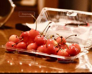 食べ物,赤,フルーツ,果物,さくらんぼ,果実