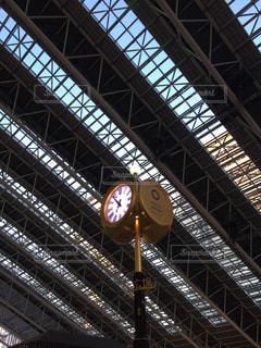 駅の大時計の写真・画像素材[1251447]
