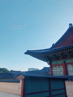 風景,空,秋,青,日差し,韓国,秋晴れ,陽射し,秋空
