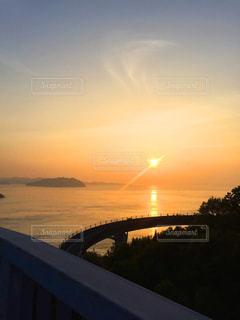 海,夕日,夕焼け,しまなみ海道