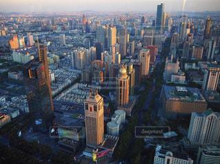 風景,夕日,ビル,夕焼け,夕暮れ,夕方,街,都会,中国,黄昏,ビル群,高い,眺める,大都会,南京,江蘇省