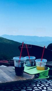 飲み物,山,コーラ,高原,清涼,ソフトドリンク,涼み,熱中症対策
