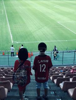 子供,サッカー,スタジアム,芝,Jリーグ,想い出,応援,フォトジェニック,負け,J1,トヨタスタジアム
