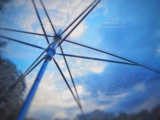傘越しの未来の写真・画像素材[1258443]