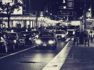 とある日の京都の夜の写真・画像素材[1668384]