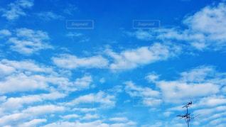 雲の羽の写真・画像素材[2428037]