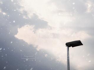 雪空の写真・画像素材[2983864]