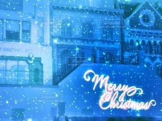 ホワイトクリスマス メリークリスマスの写真・画像素材[4136846]