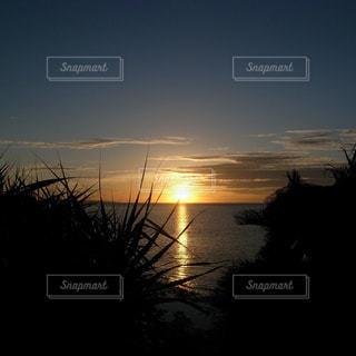 自然,海,空,夕日,夕焼け,沖縄,旅行,旅行先
