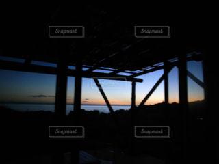 夜ライトアップ橋の写真・画像素材[1278961]